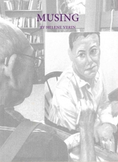 Cover photo of Helene Verin's publication showing Philip Pearlstein painting.