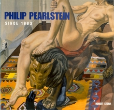 A photo of one of Philip Pearlsteins Oil Paintings