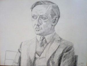 1966 Richard Diebold Pencil 18 x 24