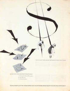 1949 (Dollar Sign Children) Poster Ink 21 x 16.125