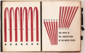 1949 Image 42 Birth of the Constitution of the United States Book Cover 11.375 x 18