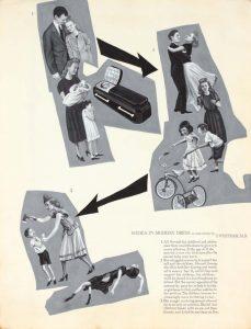 1949 Medea in Modern Dress Poster Ink 20.875 x 16