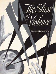 1949 The Show of Violence (Study for Book Jacket) poster ink 21 x 16