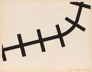 1944 Image 61 (Back Single Track railroad) Silkscreen 11 x 14