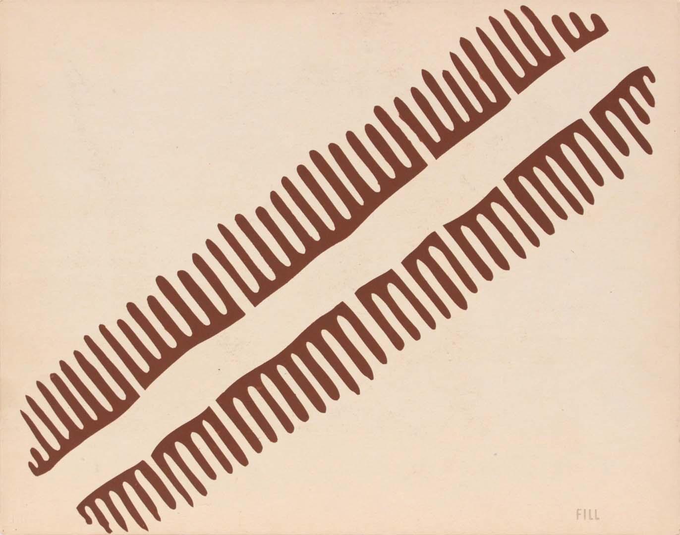 1944 Image 64 (Front Fill) Silkscreen 11 x 14