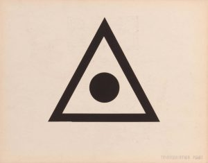 1944 Triangular Point (Back) Silkscreen 11 x 14