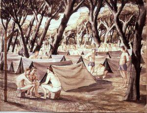 1945 (German Prisoners of War #2) (missing) Watercolor 13.875 x 17.875.jpg