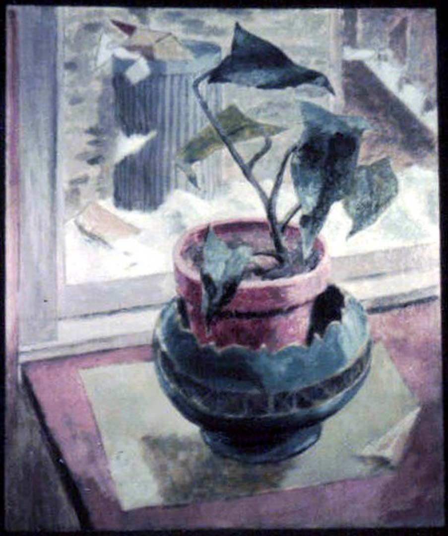1947 Containers Oil on board 24 x 19