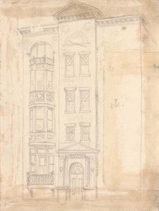 1949 Hartford etc Graphite on Paper 10.25 x 7.6875