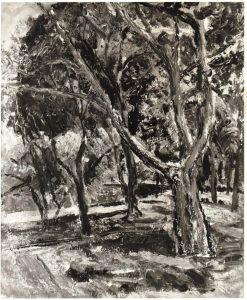 1948 Spring Landscape Oil on Board 20 x 24