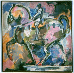 1952 Colleoni Oil 48 x 48