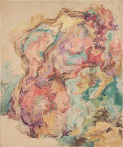 1953 Torso Oil on Canvas 36 x 30
