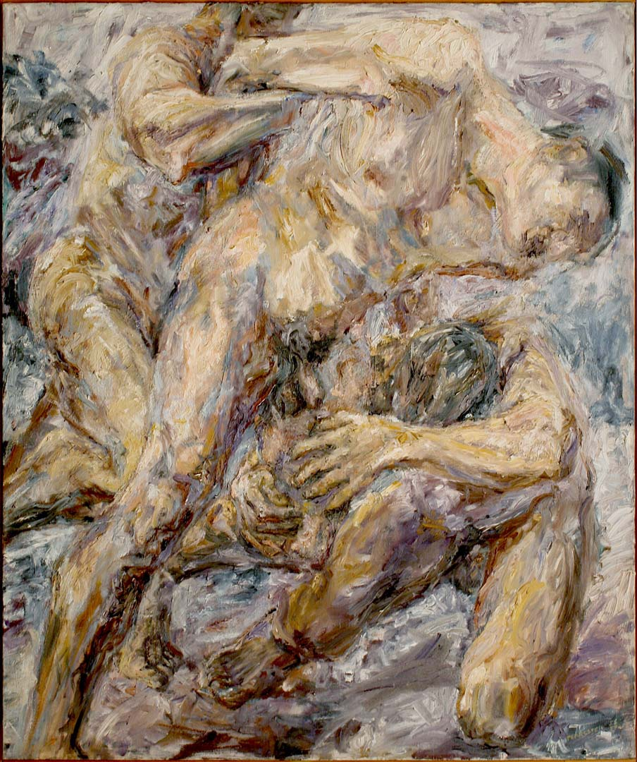 1954 The Capture Oil on Canvas 48 x 40