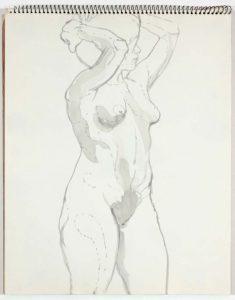 1961 NT (SB #6) Wash on Paper 14 x 11