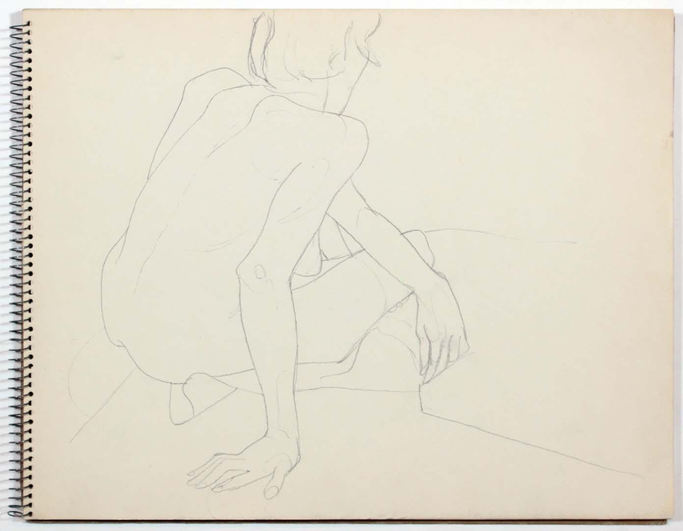 1961 Untitled Graphite 11 x 14
