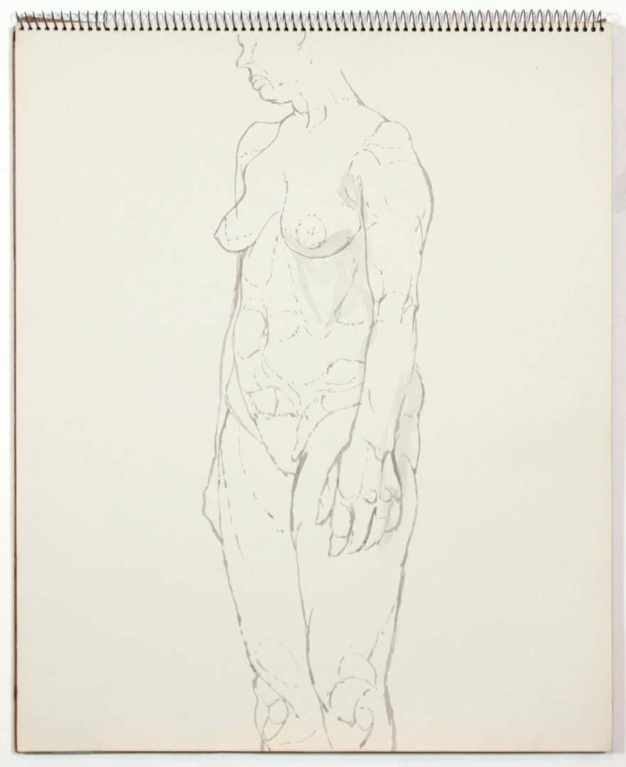 1961 Untitled Wash 17 x 14