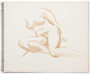 1962 Untitled Wash 14 x 17