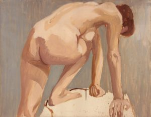 1963 Nude Leaning