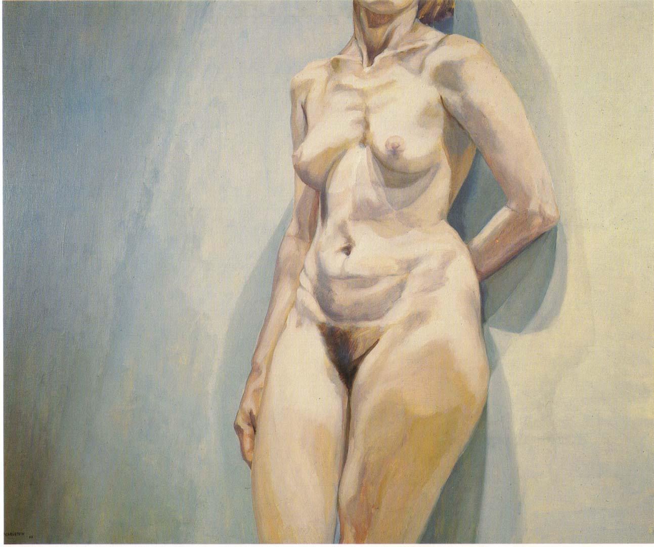 1963 Torso Oil on Canvas 36 x 44