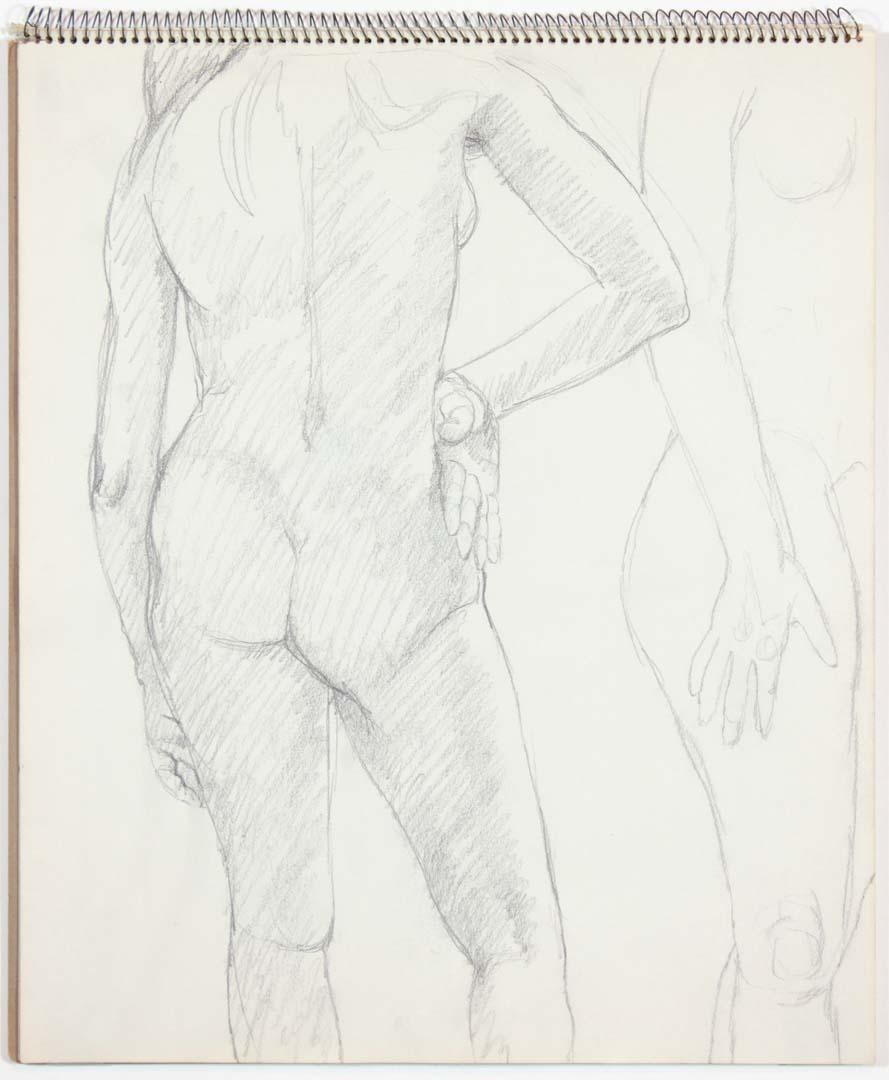 1963 Untitled Graphite 14 x 17
