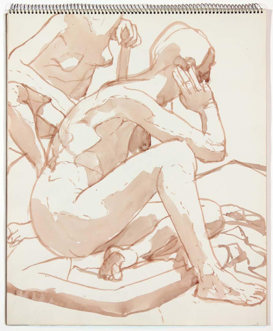 1963 Untitled Wash 17 x 14
