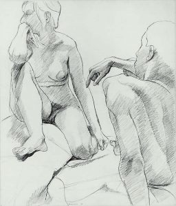 1964 Untitled Graphite on Paper 16.75 x 14