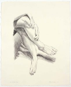 1978 Legs Lithograph on Paper 17 x 14