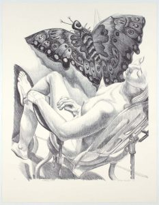 2006 Butterfly Kite III (Duotone) Lithograph on Paper 36.75 x 28.5