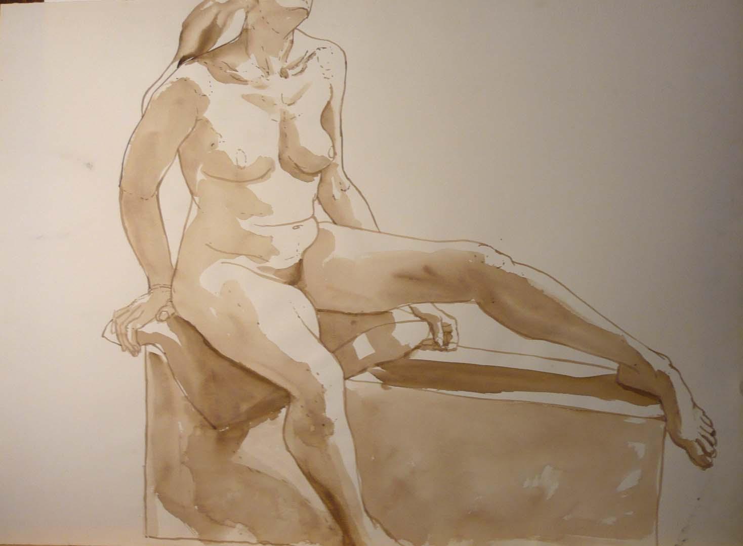 Seated Female