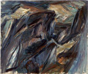 1955 Landscape Study Oil on Canvas 20 x 24