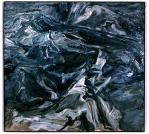 1956 Waves Oil on Canvas 44 x 48