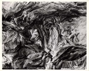 1958 Cave Forms #2 Oil on Canvas 41 x 51