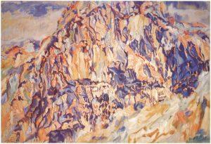 1960 Positano #1 Oil on Canvas 66 x 96