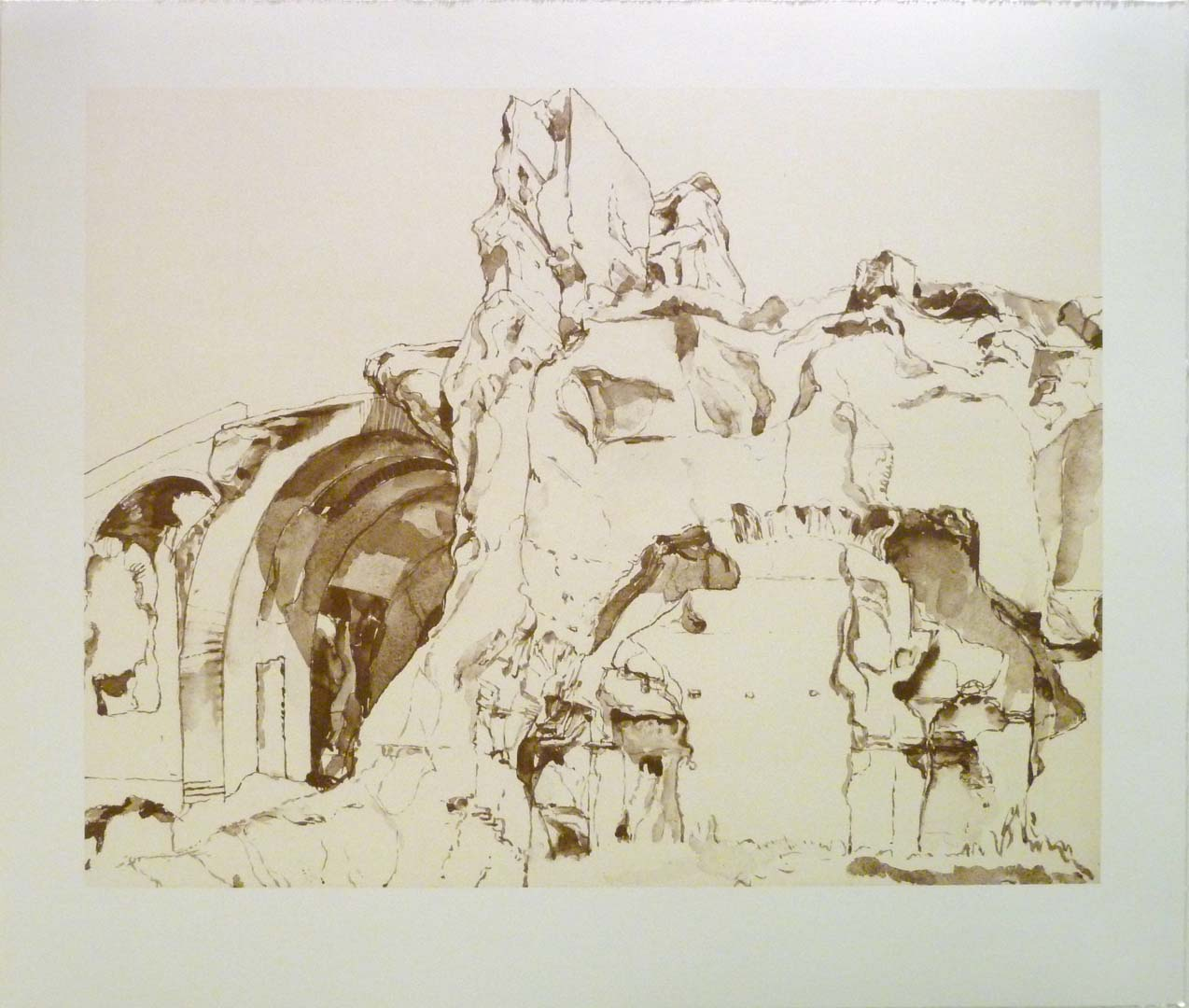 2011 Imperial Palace #2 Lithograph on Paper 20.5 x 24.5