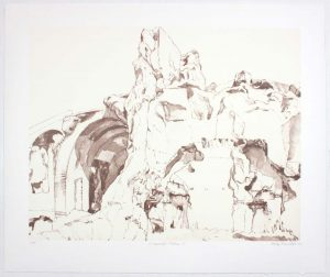 2011 Imperial Palace #2 Lithograph on Paper 20.625 x 24.625