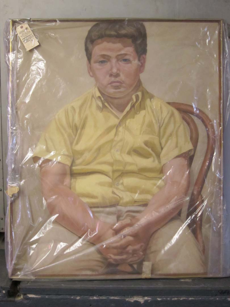 1967 Portrait of William Oil on Canvas 44 x 36