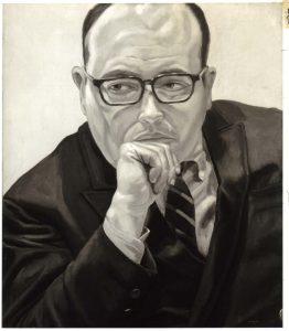 1968 Portrait of Robert Schoelkopf Oil on canvas 26 x 22
