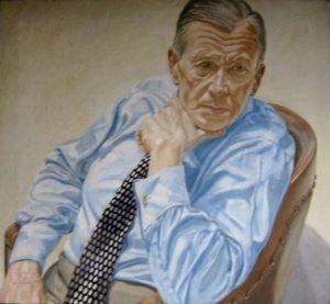1969 Portrait of Herbert Levine Oil on canvas 36 x 40