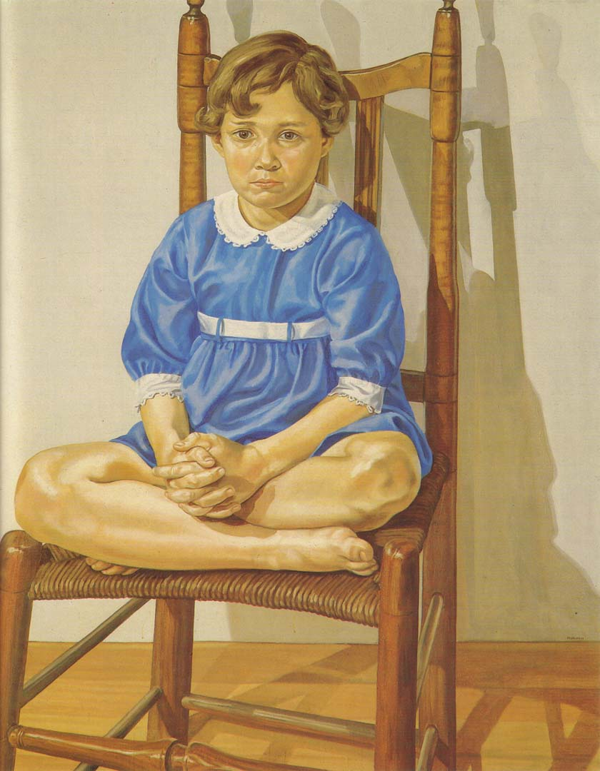 1969 Portrait of the Artist's Daughter Oil on canvas 60 x 48