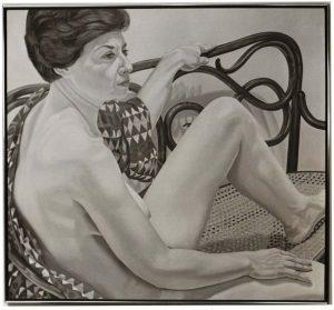 1975 Portrait of Sharon Koota Oil on canvas 44 x 48