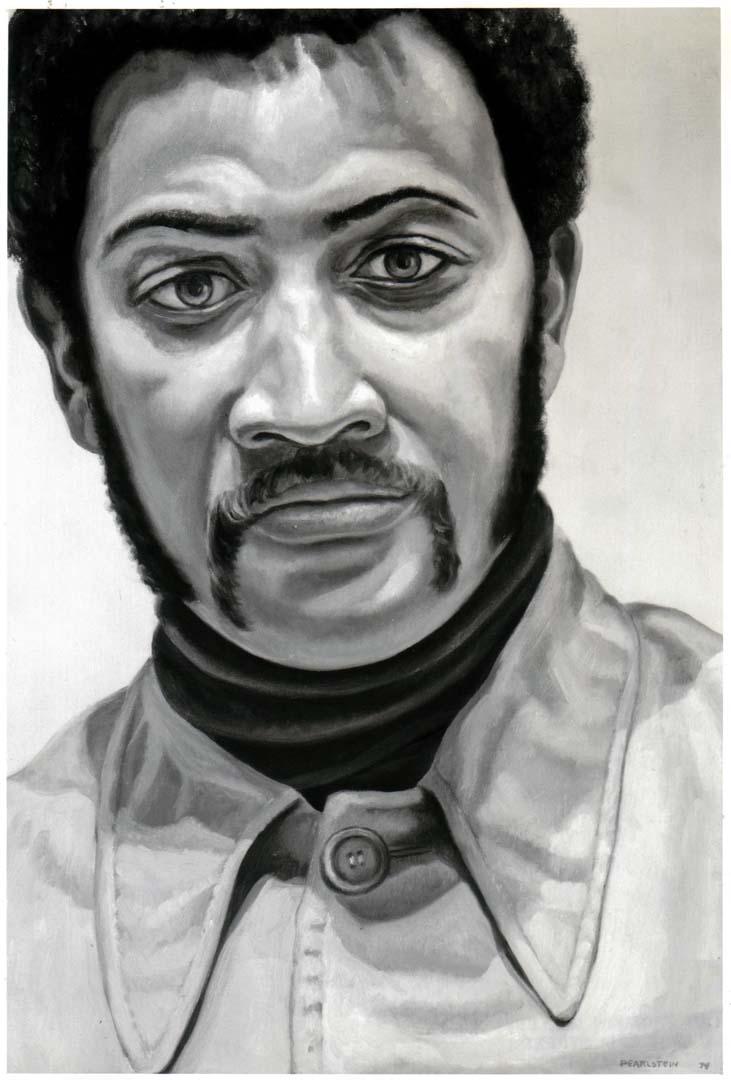 1974 Portrait of Norman Loftis Oil on canvas 24 x 16