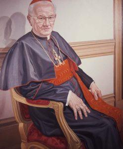 1976 Cardinal J. Krol Oil Dimensions Unknown
