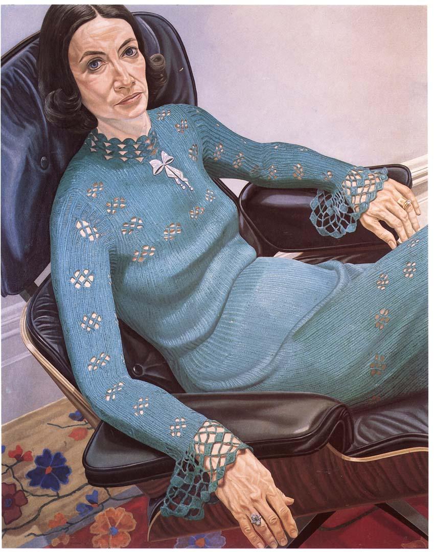 1976 Portrait of Gilda Buchbinder Oil 60 x 48