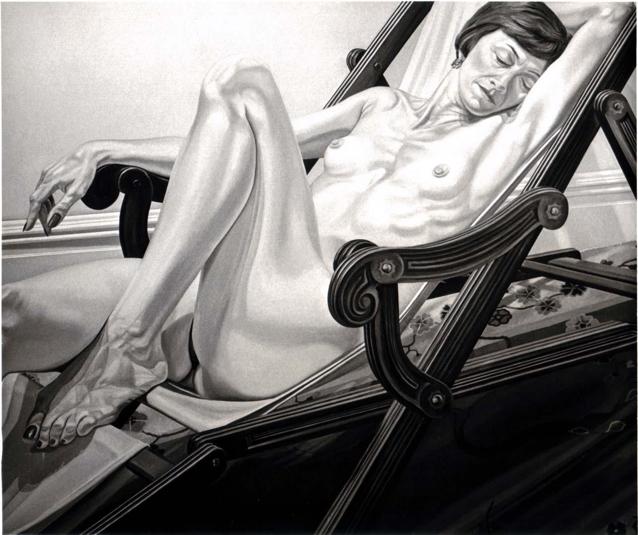 1977 Portrait of Nancy Melzer Oil on canvas 60 x 70