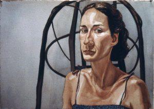 1980 Portrait of Katherine Sokolnikoff Watercolor Dimensions Unknown
