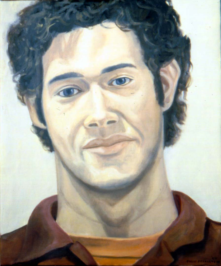 1980 Portrait of Rafeal Diaz-Tushnan Oil Dimensions Unknown