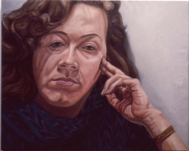 1984 Portrait of Jamie Lustberg Oil 24 x 30