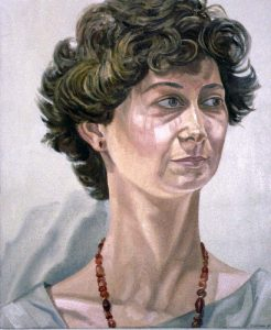 1985 Portrait of Linda Schifando Oil Dimensions Unknown