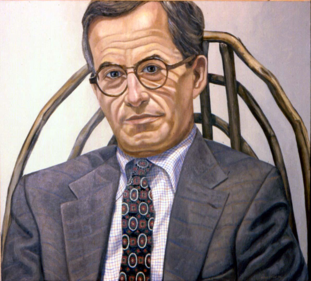 1994 Portrait of Stewart Feld Oil on canvas Dimensions Unknown