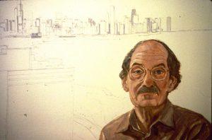 1995 Portrait of Lauri Kaplan Oil on board 36 x 24